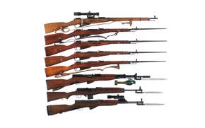 модели, Мосина, винтовки, фон, оружие