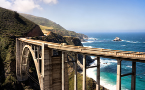 pont, RIDE, plage