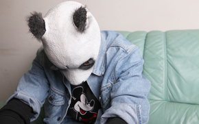 maschera, panda, Carlo Waibel, Musica