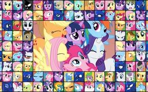 рэрити, пони, мои маленькие пони, твайлайт, флатти, дружба это магия, пинки