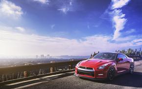 HORIZON, megalopolis, Nissan, sky