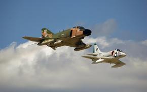 deck, flight, attack plane, multi-purpose, fighter, sky