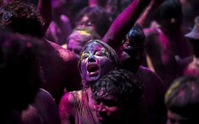 лица, радость, краски