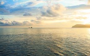 Haz ancho, Novorossiysk, mar, Mar Negro