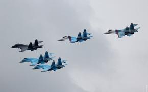 ВВС Росии, самолёты, СУ, истребители