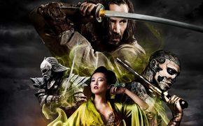 Japan, Katana, samurai, Keanu Reeves, sword