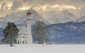 Baroque church, Bayern, Germany