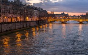 Seine, Paris, ville