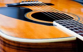 guitar, Music, Macro