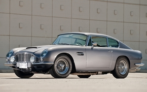 Front, Aston Martin, Vantage, background, CLASSICS, Aston Martin