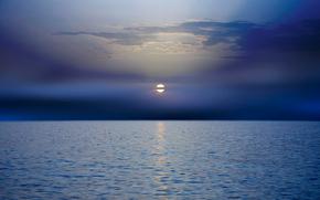 Tramonto in Grecia, mare, sole