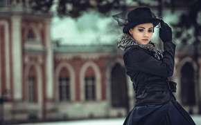 boné, Anna Karenina, retrato, estilização