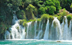 Plitvice Lakes, Croatia, national park, waterfalls