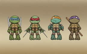 Teenage Mutant Ninja Turtles, Teenage Mutant Ninja Turtles, minimalism