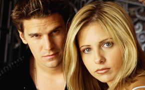 Buffy, angelo, Serie TV, Vampire Slayer