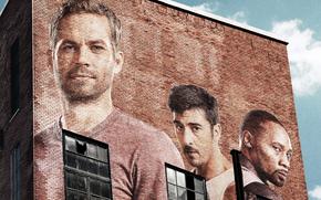 actor, wall, Paul Walker, man, David Belle