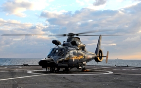 авианосец, Средиземное море, атомный, ВМС Франции, палуба