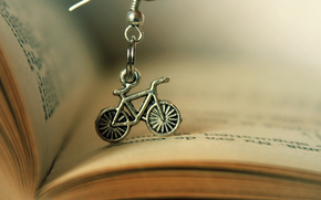книга, письма, велосипед, талисман