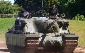 Britânico, ultraheavy, (Arma automotor), tanque, assalto