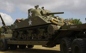 "tanque, Guerra, Tanque, período, ""Sherman"", mundo, trator, média, segundo"