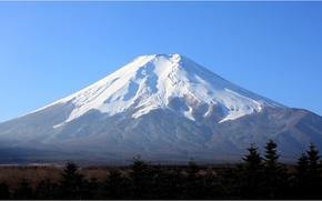 япония, широкоэкранные, полноэкранные, фудзи, фуджи, обои, вулкан, фудзисан, гора, фудзияма, широкоформатные, фон