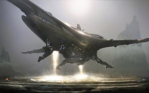 飞船, 灯火, 开始