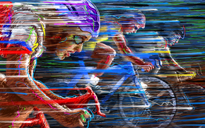 speed, COLOR, Race, cycle racing, bike, vector