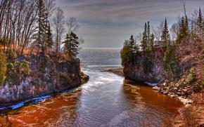 Temperance River State Park, Minnesota, USA