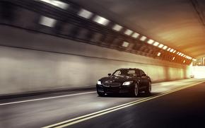 BMW, tunnel, speed