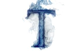 дым, буква, газ, литера