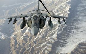 flight, attack plane, refueling