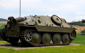 "Artillery, easy, German, (SAU), ""Hetzer"", installation, self-propelled, Tanks, class, fighters"