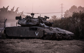 tanque, Merkava, batalha
