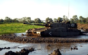 Israël, matériel militaire, réservoir, Réservoir