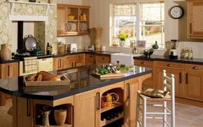 piastra, progettazione, suite, tostapane, domestico, interno, mobili, cucina