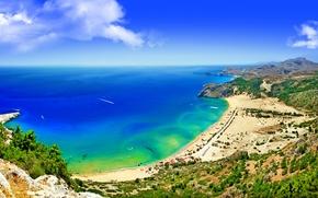 spiaggia, costa, sabbia, mare