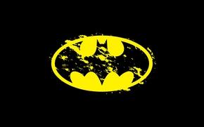 Hintergrund, logo, Batman