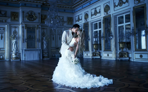 жених, невеста, свадьба, дворец