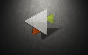 холст, ткань, треугольник, цвет