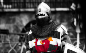 knight, mail, helmet, warrior, armor