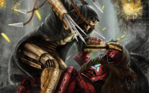 gioco, Art, esplosione, combattere