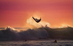 Sport, surfing, summer, water, ocean, waves