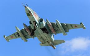 attack plane, takeoff