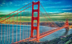 Golden Gate Bridge, San Francisco, сша