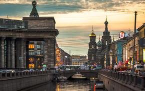 Russia, spb, center, petersburg, Peter, Griboyedov Canal, Nevsky Prospect
