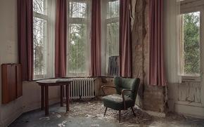 interior, chair, room