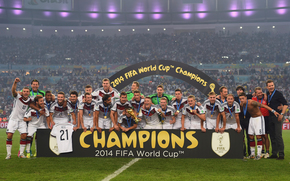 football, victory, joy, World Cup, champions, Team Germany