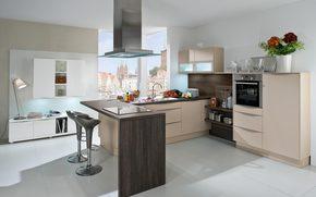 progettazione, cucina, stanza, interno, stile