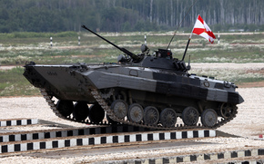 Russia., Division, Sun, Competitions, polygon, bridge, near Moscow, all-army, fighting, obstacles, machines, Alabino, biathlon, Crews, Motorised, Corps, tank, Combat, machine, overcoming, Guards, RUT, Taman