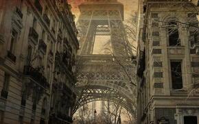 snapshot, Torre Eiffel, Parigi, lavorazione